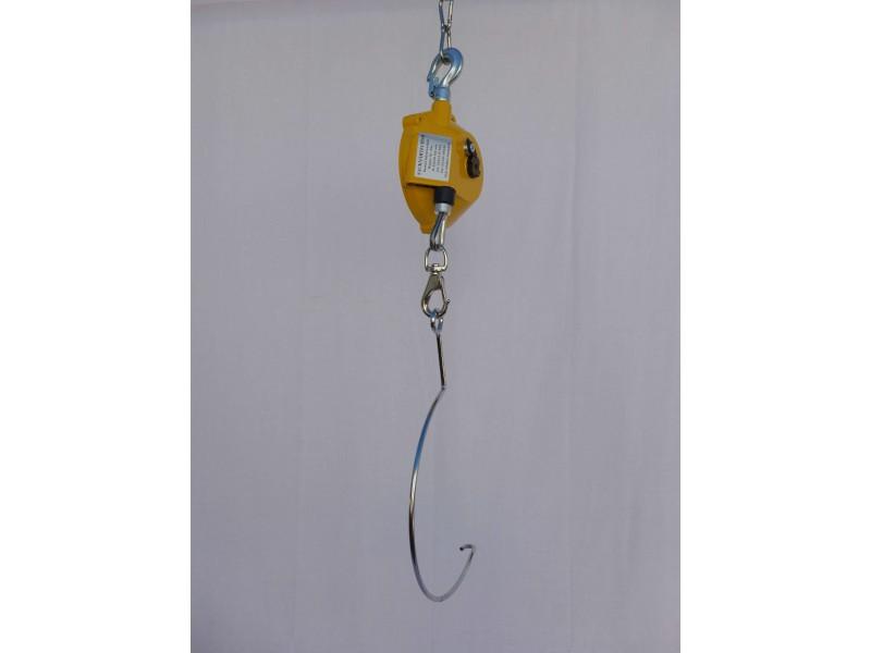 Federzug / Balancer mit Bügel für tragbare Sacknähmaschinen